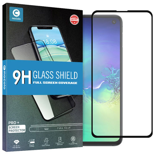 Full Tempered Glass Screen Protector for Samsung Galaxy S10e - Black